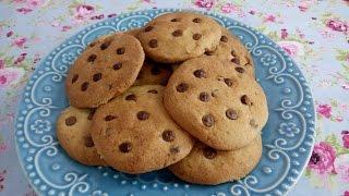 como fazer cookies americano super fácil