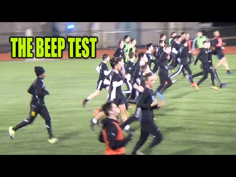 SoccerCoachTV -The Beep Test.