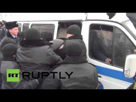 Kazakhstan: Anti-devaluation rally leads to arrests