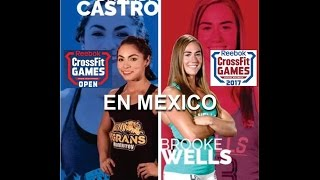 Repeat youtube video CROSSFIT OPEN 17.4 - BROOKE WELLS vs BRENDA CASTRO