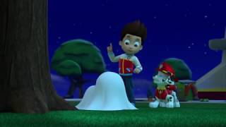 paw patrol rubble a viu uma Ghost