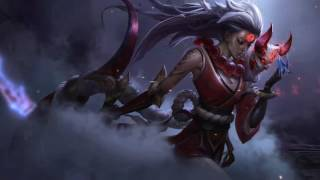 Blood Moon Diana Login Screen Animation Theme Intro Music Song【1 HOUR】
