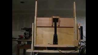 Do It Yourself Vertical Tv Lift, Home Made.