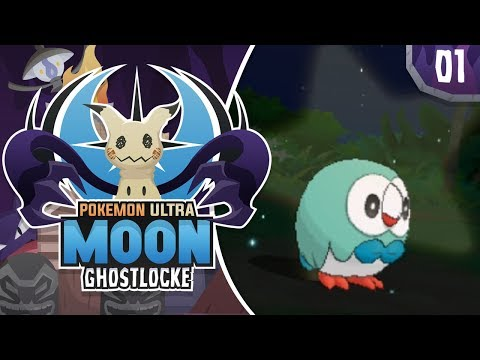 AMAZING SHINY START! Pokemon Ultra Sun and Moon GhostLocke Gameplay Walkthrough w/ aDrive! Ep 1