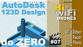 123D Design da AutoDesk Tutorial - TronXY X1 #7 - Criando um objeto 3D do início em arquivo STL