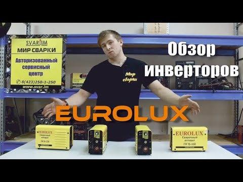 Обзор сварочных инверторов EUROLUX IWM