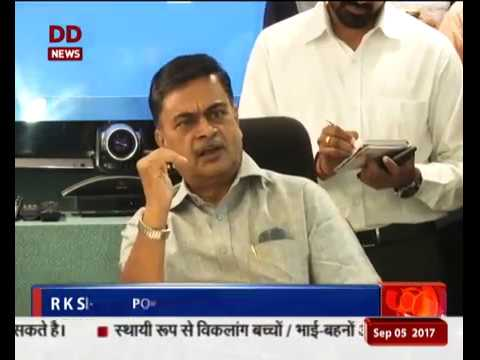 New Power Minister R K Singh takes charge