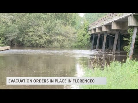 Evacuation order in place for Florence