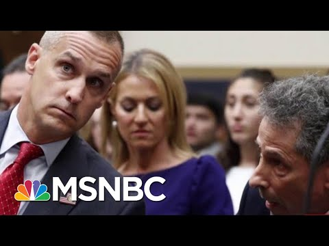Corey Lewandowski 'Was Talking Directly To Donald Trump' | Morning Joe | MSNBC