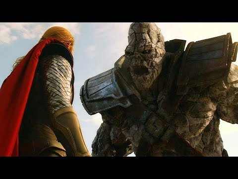 Thor vs Stone Giant - Vanaheim Battle (Scene) Movie CLIP HD