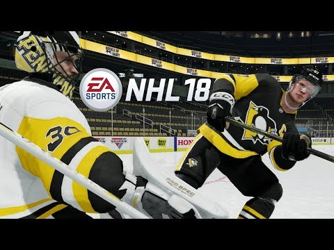 NHL 18 - Stanley Cup Game Full Game! Pittsburgh Penguins vs Nashville Predators! (NHL 18 EA ACCESS)