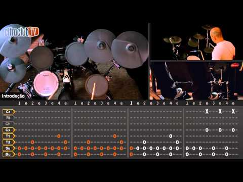 Enter Sandman - Metallica (aula de bateria)