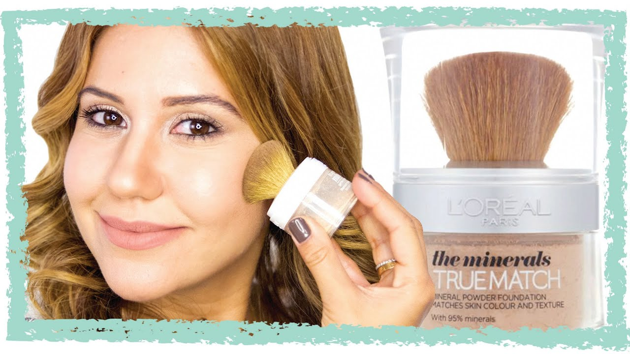 L'Oreal True Match Mineral Makeup - Is It Worth The Mess?