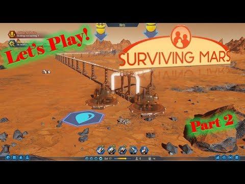 Surviving Mars -  We Have WATER! -  Part 2