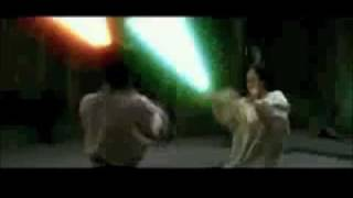 Crouching Tiger Hidden Dragon Light Saber Fight