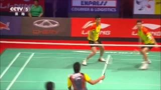 badminton - doubles deception and trickshots