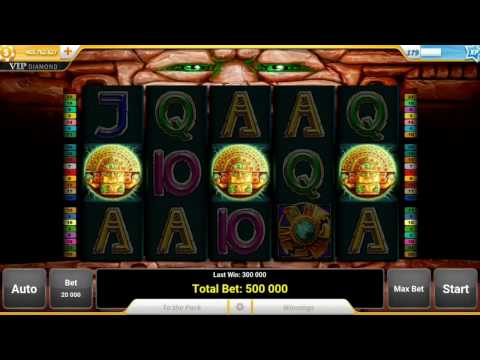 Slotpark (Aztec power) So close to a huge win on 500.000 bet!