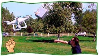Квадрокоптер (Дрон) - подборка падений | #1
