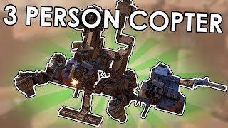 The Flying Copter Fusion - Crossout