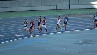 2018.10.13 大分銀行ドーム 平成30年度全九州新人陸上競技大会 男4x400m...