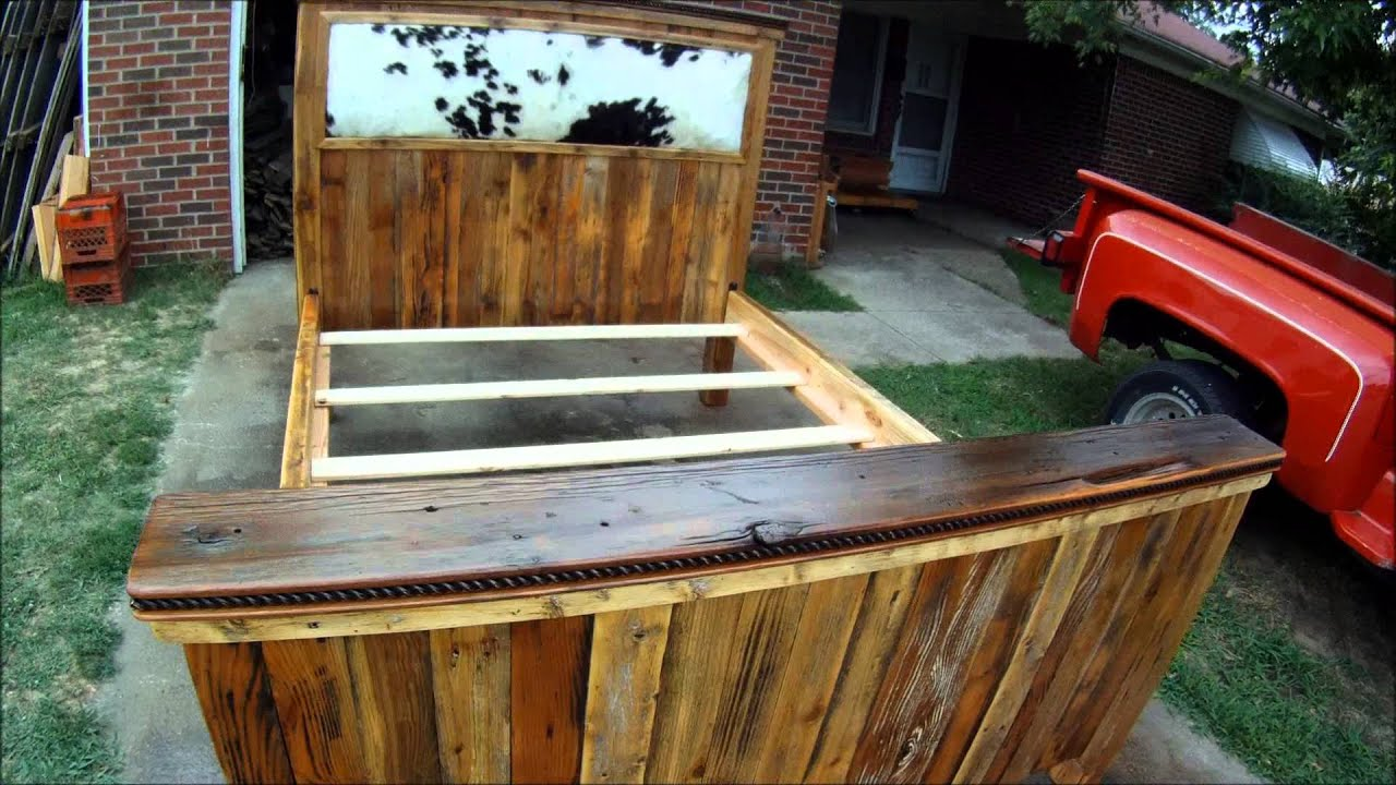 Recycled wood bed frames - Recycled Wood Bed Frames 35
