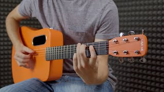 Lava Me 2 Review | The Orange Carbon Guitar with Built In Reverb