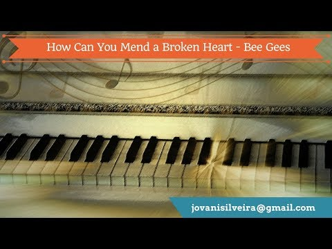How Can You Mend a Broken My Heart - Bee Gees COVER