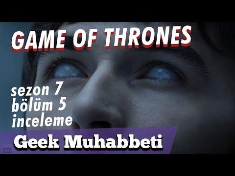 """GAME OF THRONES - Sezon 7 Bölüm 5 İnceleme - """"Eastwatch"""" // 6. Bölüm Fragman Teorileri"""