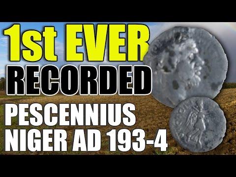 1st EVER recorded Pescennius Niger Denarius AD 193-4 (Ep265)