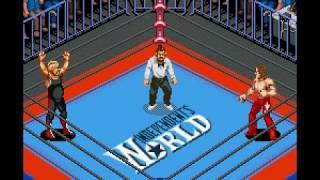 Super Fire Pro Wrestling X Premium - Vader vs. Shawn Michaels [SIMULATION]