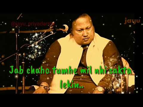 jab-chahu-tumhe-yaad-to-kar-sakta-hu-|-nusrat-fateh-ali-khan-whatsapp-status-|-lyrics-status
