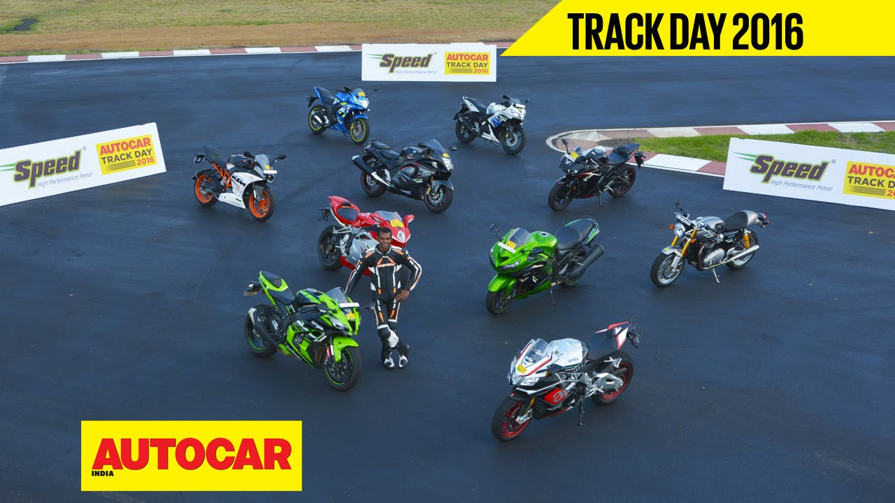 Trackday 2016 Part 02 India S Best Track Bike With Rajini