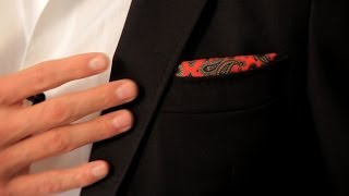 How to Wear a Pocket Square | Men's Fashion