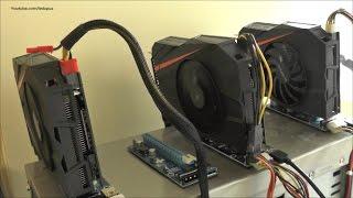 Влияние подключенного монитора на температуру видеокарты в риге.