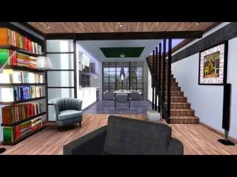 The Sims 3 Modern House - Design for Couples 1 [HD] + DOWNLOAD