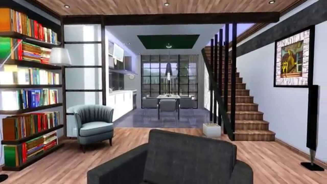 Genial The Sims 3 Modern House   Design For Couples 1 [HD] + DOWNLOAD   YouTube
