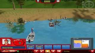Berkley Bass Tournament Tycoon - gameplay