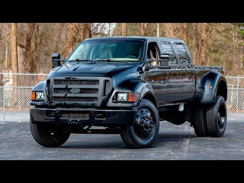 2005 Ford F650 Supertruck Limo Pickup