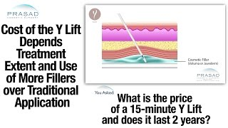 Cost Factors of the Y Lift® - Cosmetic Fillers on Bone Structure for Better Volume Enhancement