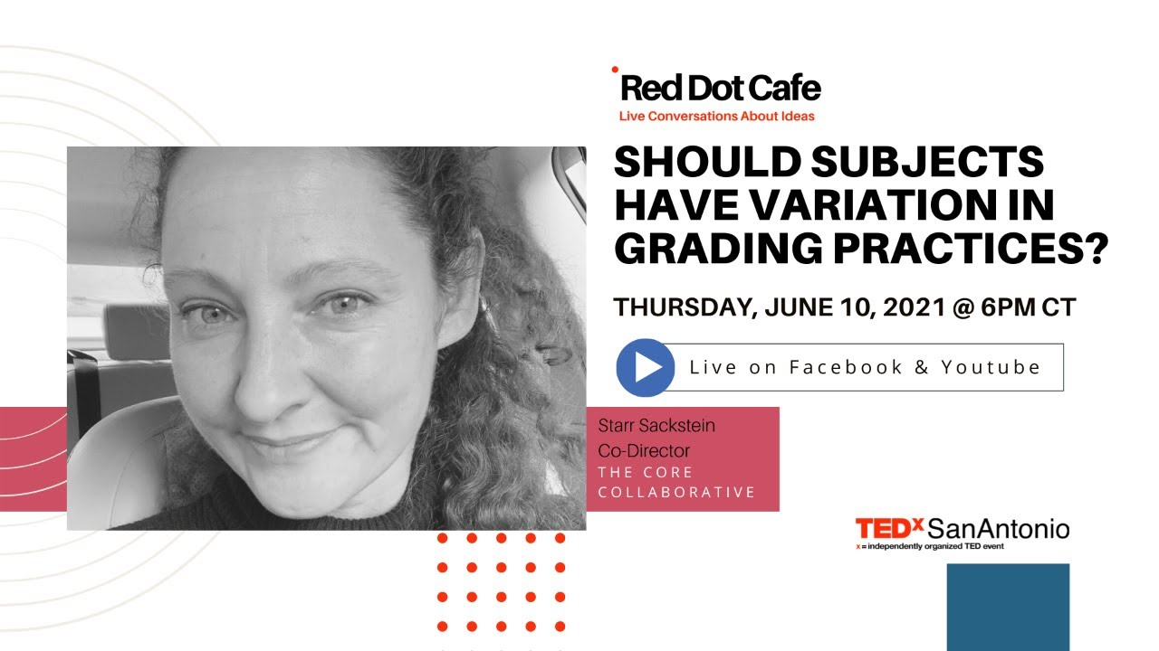 Red Dot Cafe: Should Subjects Have Variation in Grading Practices?