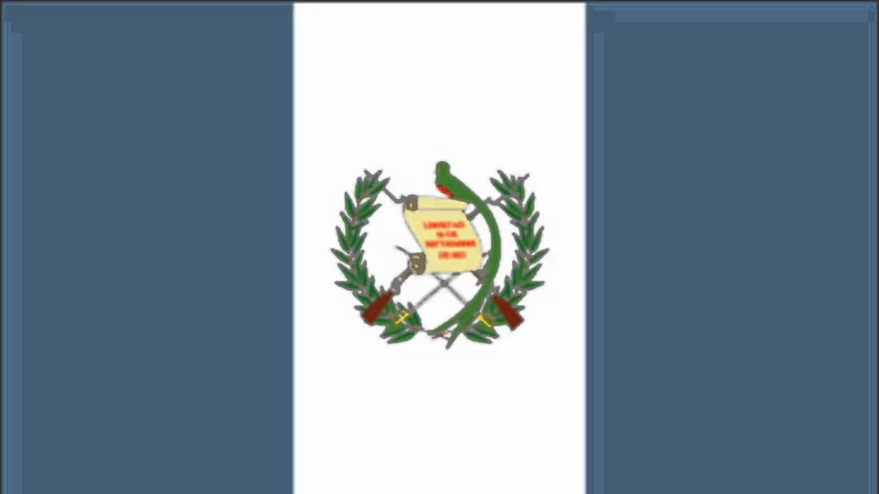 Guatemala Flag And Anthem Youtube
