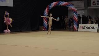 Художественная гимнастика/Метелица 2017/Лена Гоголева Мяч
