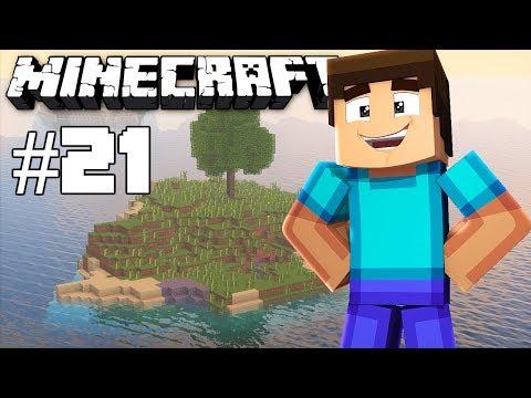 Building - Minecraft timelapse - Survival island III - Episode 21