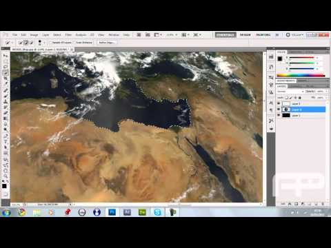 Adobe PhotoShop CS5: How to Make a Realisic Earth / Planet -Tutorial