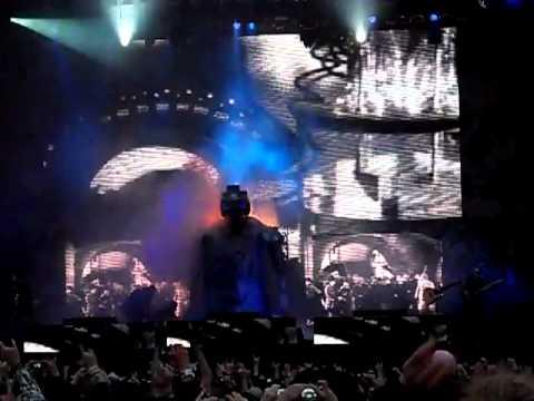 1. Rob Zombie - Intro + Jesus Frankenstein - Download Festival 2011 Donington 12 June