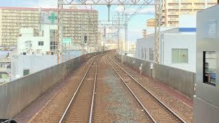 南海8000系 8006F 普通なんば行き 【前面展望】堺〜七道