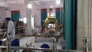 Anandpur Sahib Gurudwara - Outside And Inside View & Virasat-e-khalsa - Outside View [In 1080p HD]