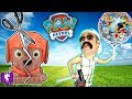 HobbyGrit CUTS Open PAW PATROL Surprise Toys! Reviews with HobbyKidsTV