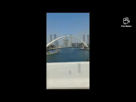#Dubai view beautiful safa Park water ⛲canal