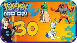 Pokemon Sun and Moon - COMPLETE POKEDEX WALKTHROUGH [100%] - Part 30: All Starters Final Evolution!